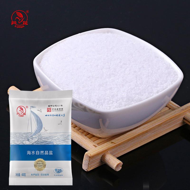 芦花海盐400g*6