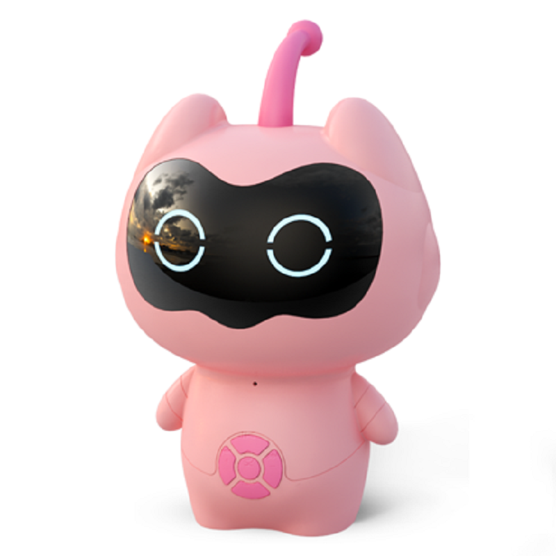 淘气精灵宝宝益智早教陪伴玩具儿童学习智能机器人男女孩高科技多功能小谷小度ai云语音人工对话教育故事机