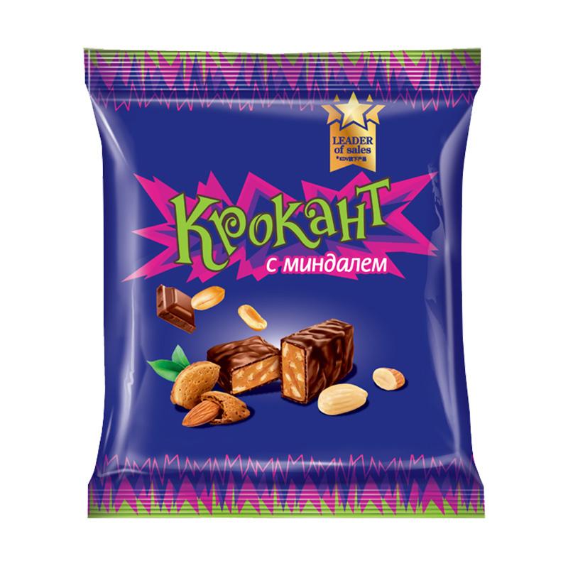 KDV俄罗斯进口紫皮糖正品原装kpokaht夹心巧克力休闲零食散装500g