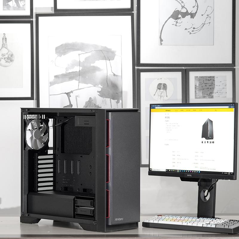 安钛克P101E-ATX中塔v台式台式机箱游戏电脑主机
