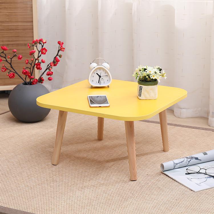 炕桌飘窗桌榻榻米懒人书桌日式茶几阳台实木小圆桌子飘窗桌子矮桌