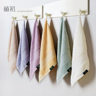 Planting thickened towels, pure cotton, face and hands, household children, babies, soft and non-linting, absorbent men and women small square towels
