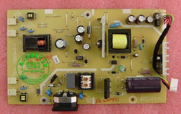 Original LG W2243S power board LG W2243S high voltage board 715G3447-1/-2 power board