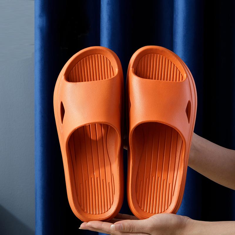 买一送一凉拖鞋女Ψ家用夏季防滑室内浴室洗澡情侣外穿厚底拖鞋男士