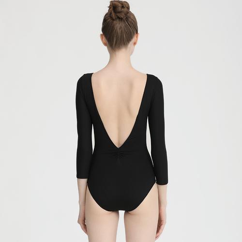 Ballroom latin dance bodysuit for women Ballet training suit long sleeve body suit women's Art