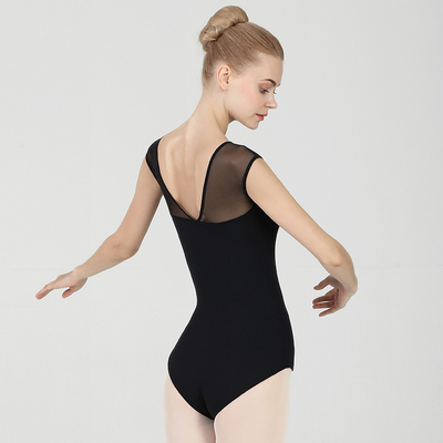 Ballroom latin dance bodysuit for women Ballet body dress, female dance dress, mesh stitching, adult ballet training suit, conjoined air Yoga suit