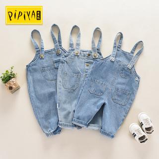 Ребенок нагрудник ковбой брюки для мальчиков сын ребенок весна мужской и женщины дети брюки 0-2 лет ребенок ремень джинсы 3, цена 541 руб