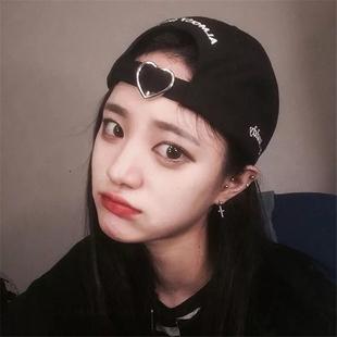 帽子男女同款韩版情侣青年软顶棒球帽