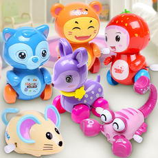 Children's winding clockwork toys will run the baby infant puzzles to learn to climb 1-3 boys and girls small toys