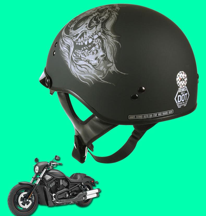 Купить Новый SOL пол-лица шлемы для мотоциклов с открытым лицом старинные шлем двойной линзы каско capacete точка aprroved мужчины мото-шлем