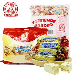 【俄罗斯进口】鲜奶威化巧克力糖果1KG