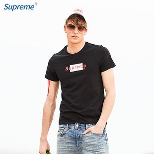 Supreme潮牌联名短袖t恤衫