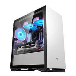 Patriot YOGO M2 desktop computer full side transparent MATX small main box water-cooled shell atx pink white