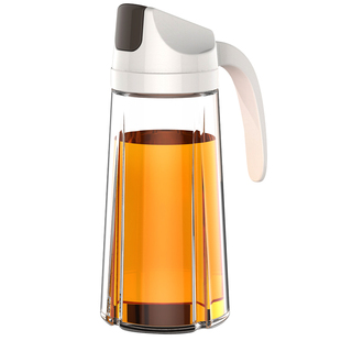 【乐博乐博】防漏自动开合玻璃油壶