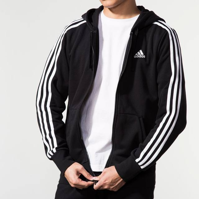 Adidas adidas jacket men 2019 new authentic autumn and winter casual sports hooded jacket S98786
