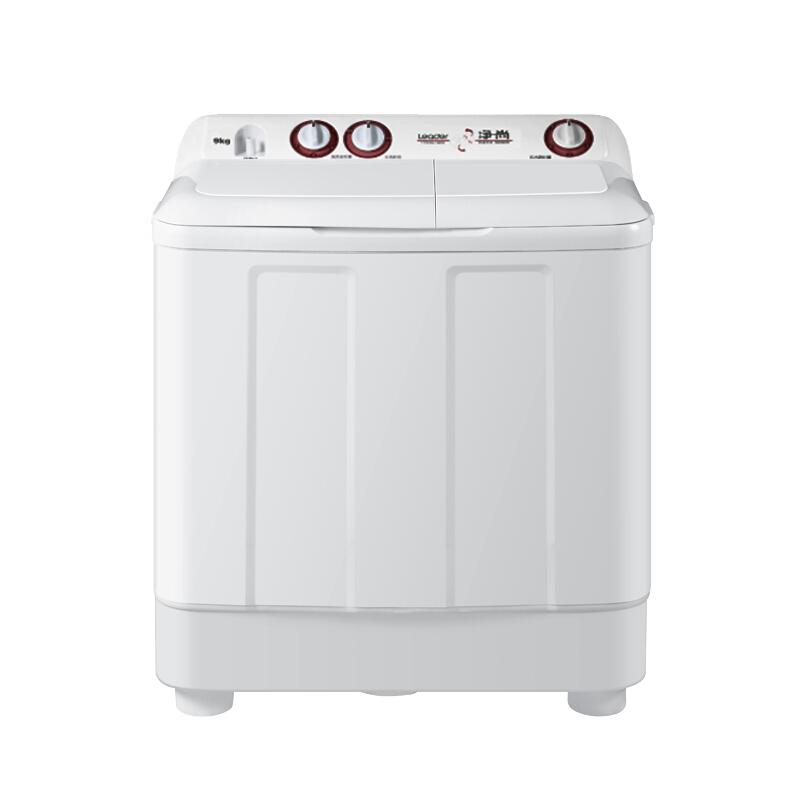 洗衣机统帅9kg半自动双缸老式双桶家用大容量TPB90-196S海尔出品