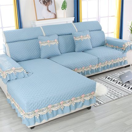 沙发垫四季通用防滑坐垫北欧简约高档套罩全包沙发万能布加厚盖布