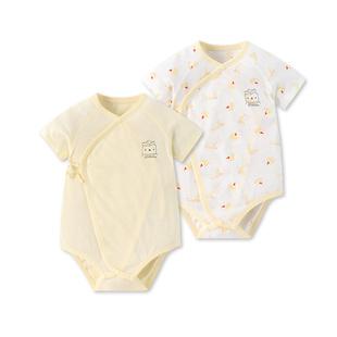 【好孩子】婴儿短袖三角衣薄款纯棉衣服2