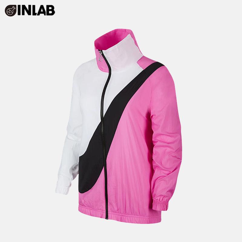 Nike Nike 2019 phụ nữ mới AS W NSW SWSH JKT WVN CB áo khoác BV3686-743 - Áo khoác thể thao / áo khoác