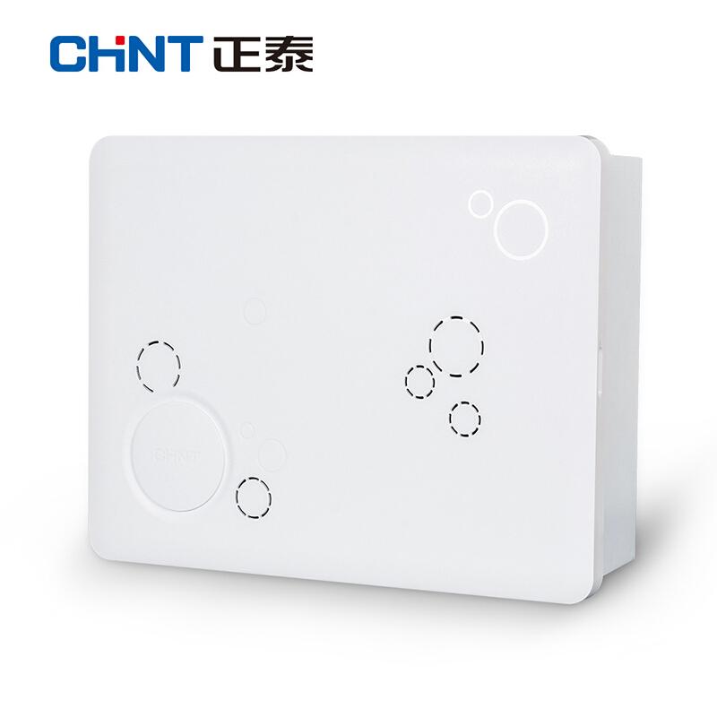 Zhengtai мультимедийная распределительная коробка слабое электричество модуль Box home router информационное поле «волокно к дому» белый Пустая коробка