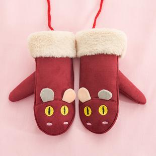 【爆款疯抢】加绒加厚可爱儿童手套