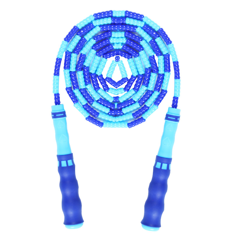 儿童竹节跳绳可调节小学生幼儿园初学专用体育考试跳绳健身专业绳