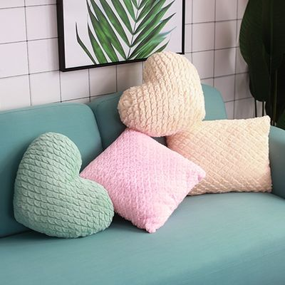 Nordic ins pillow love office sofa cushion bay window decoration bedroom bedside backrest girl heart pillow