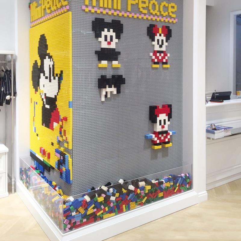 大滑道积底板v滑道槽木墙房家用壁挂式黑板墙颗粒儿童拼装益智玩具