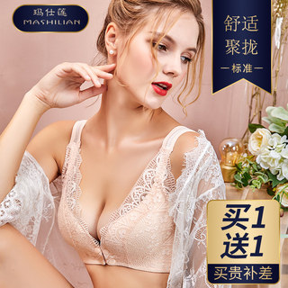Nursing bra, pregnant women, underwear, pregnant women, bra, comfortable summer, thin section, front buckle, feeding, gathering, anti-sag