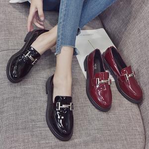 【宾线】百搭低帮粗跟女鞋