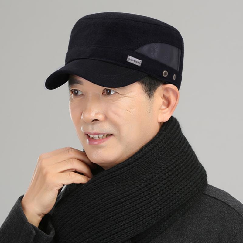 【老板巨亏】中老年人保暖护耳棒球帽