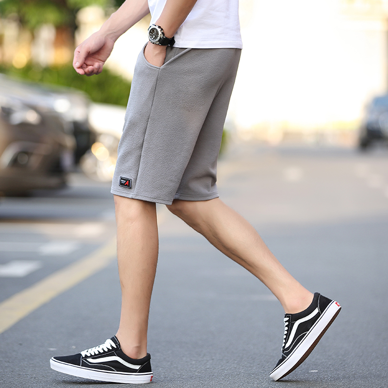 男士夏季运动休闲五分短裤