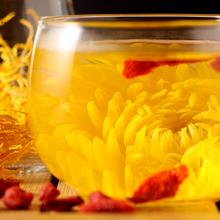 一朵一杯特级金丝皇菊20-30朵