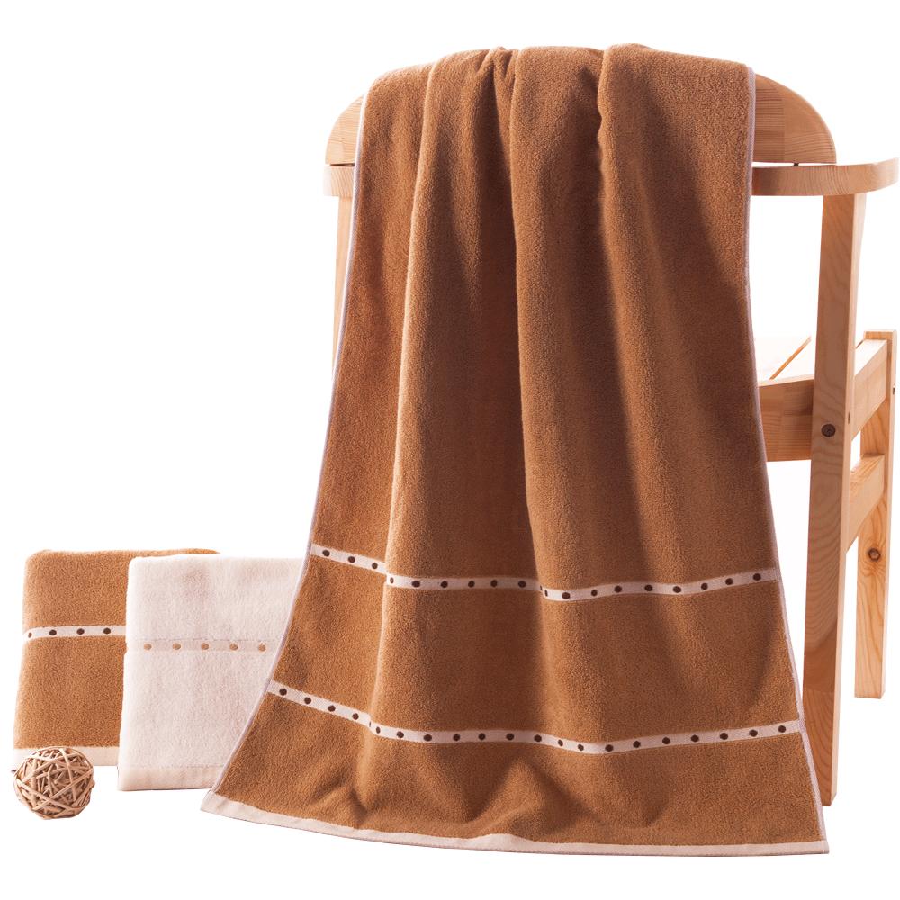 金号 A类纯棉浴巾 180*80cm 两色可选 57.9元包邮