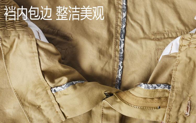 Quần âu bông lỏng thẳng quần mùa hè nam overalls co phần mỏng xu hướng thể thao ngoài trời quần