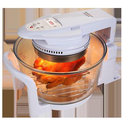 生活家空气炸锅家用玻璃可视智能大容量无油电炸锅薯条机赠收纳袋