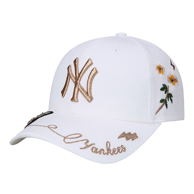 USD 99.21  Korean MLB baseball cap Rhinestone Bee Spurs Yankees NY ... 292823258