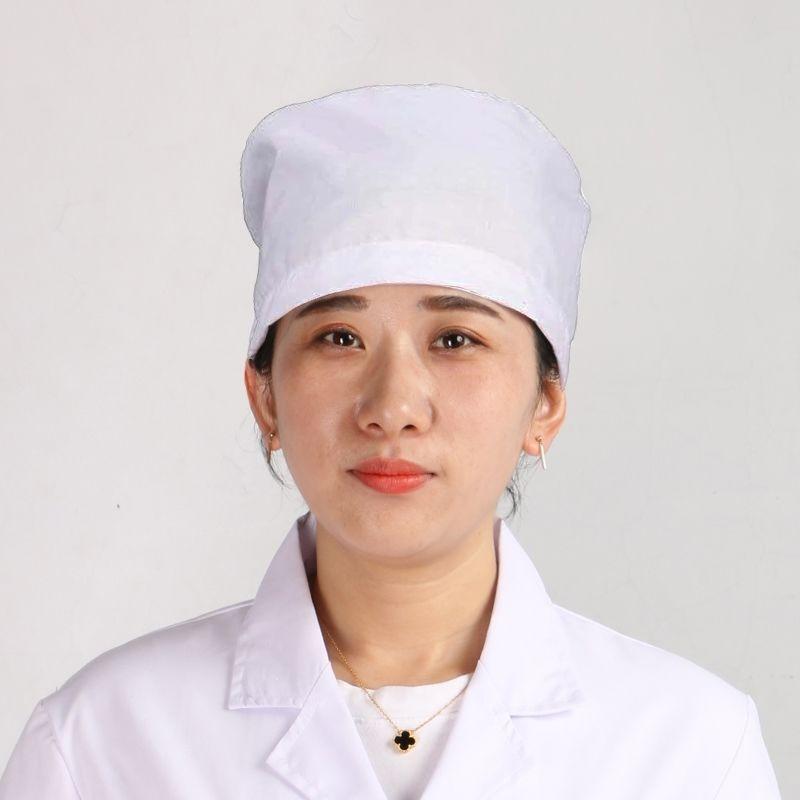 Bác sĩ mũ nam và các bác sĩ nữ y tá cap tròn nắp bác sĩ mũ nón công việc đầu bếp mũ y tá mũ trắng