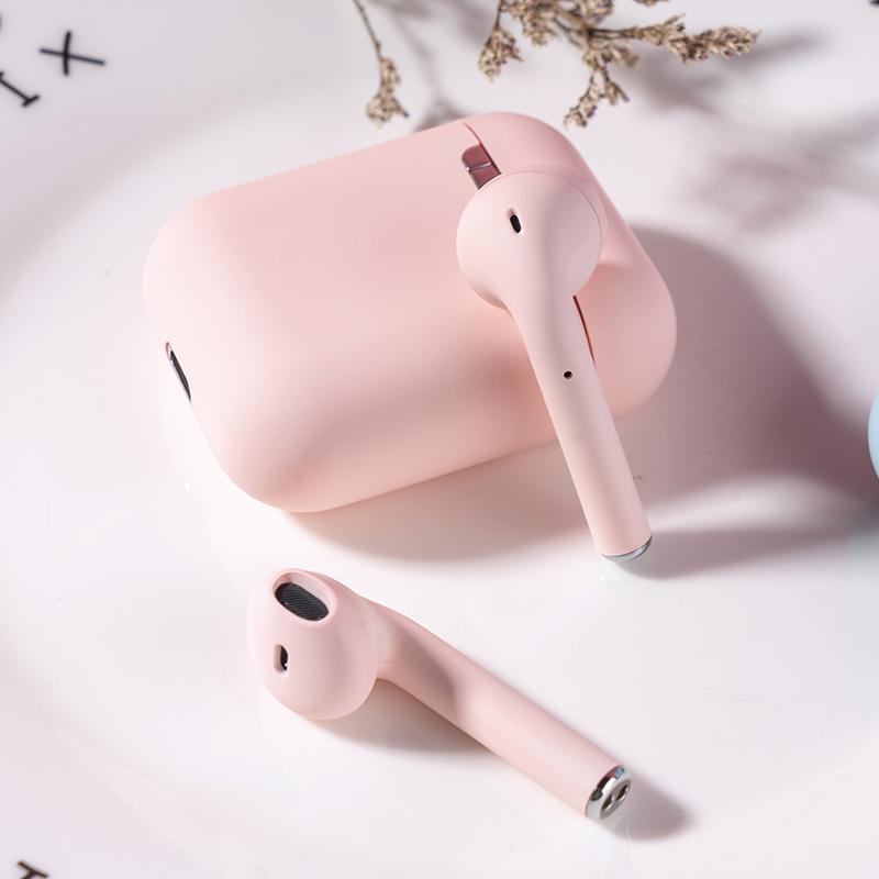 少女心蓝牙耳机女生款可爱双耳半入耳式运动音乐vivo华为iPhone7p苹果oppo安卓通用型无线耳机一对,免费领取30元淘宝优惠券