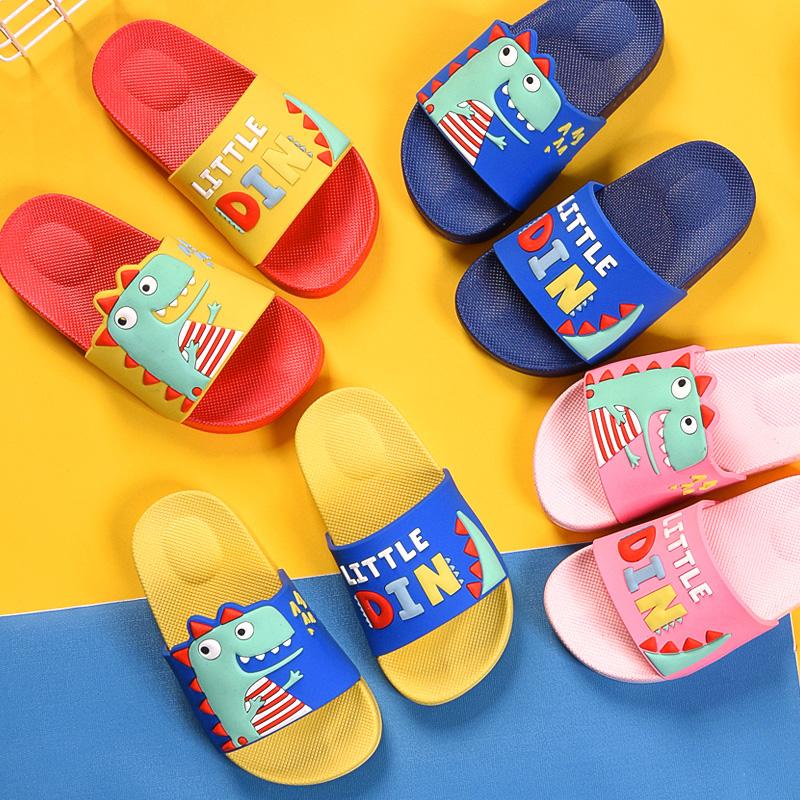 儿童拖鞋夏男女宝宝家居用亲子室内防滑软底可爱小孩婴幼儿凉托鞋