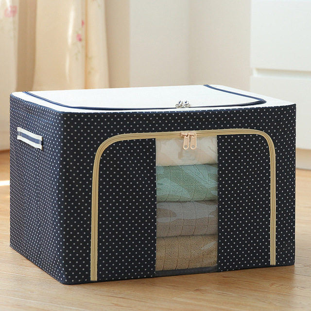 Storage box extra large quilt clothing folding storage box fabric finishing box storage box storage bag Oxford cloth
