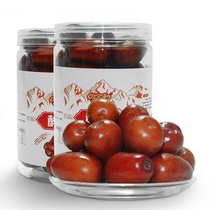 酒枣新鲜醉枣 鲜食甜脆大红枣500g*2罐装特级骏枣新疆特产酒泡枣
