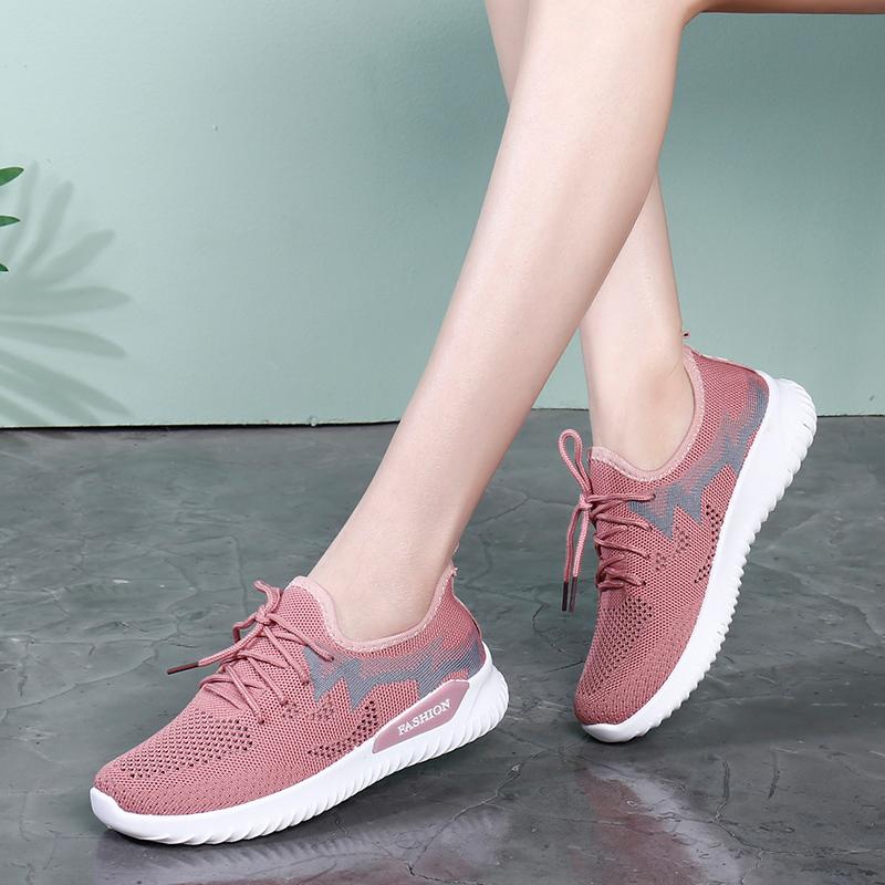 【韩心妍】旅游健步运动软底鞋
