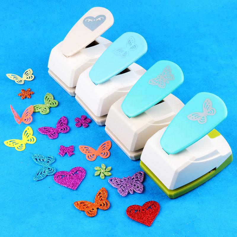 特大号压花器打孔花器DIY蝴蝶材料镂空打手工压花机印花机花边机