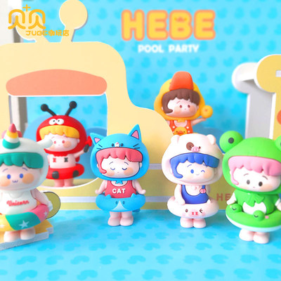 Flowers small West Pool Party Blind Box 2020 web celebrity new set of girl busy heart and doll tide play gifts