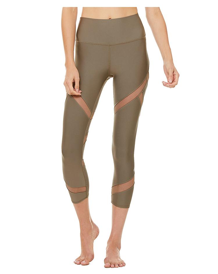 BEAUTY AMIU·代購美國 Alo yoga  HIGH-WAIST MESMERIZE CAPRI春夏運動瑜伽褲