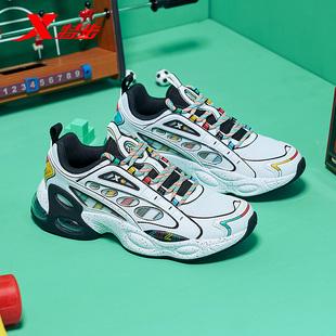 特步男鞋次元战纪系列运动鞋