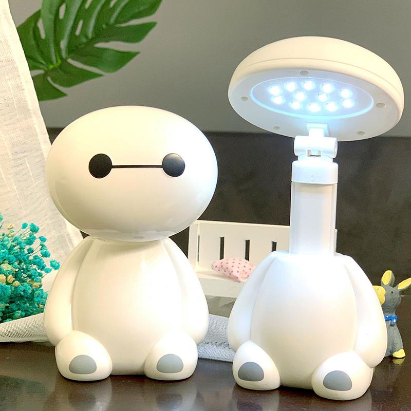 【超萌】创意大白充电式护眼台灯