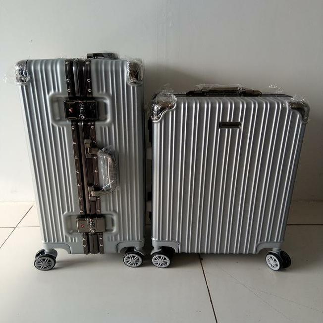 时尚v时尚轮铝框杆登机箱多色可选20寸登机箱24寸小方锁行李箱