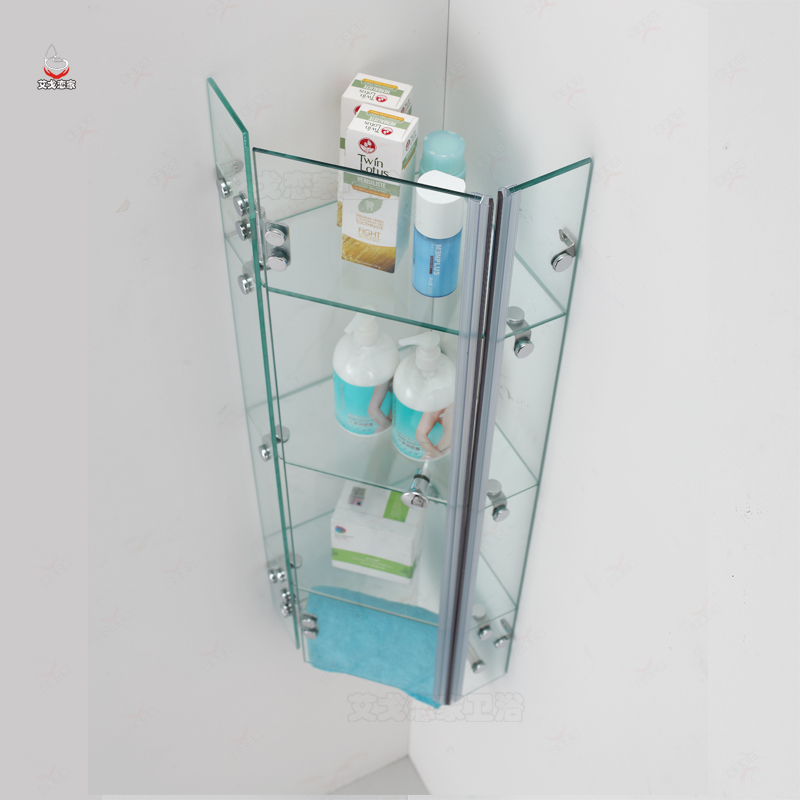 Usd 200 71 Tempered Glass Shower Room Shelf Bathroom Wall Storage Cabinet Bathroom Corner Storage Rack Bath Room Waterproof Wholesale From China Online Shopping Buy Asian Products Online From The Best